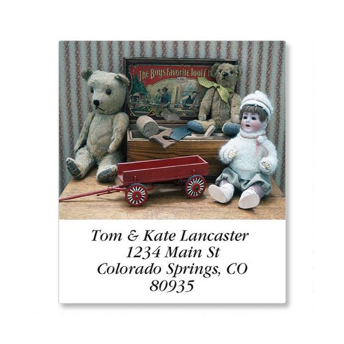Antique Dolls  Select Address Labels  (12 Designs)