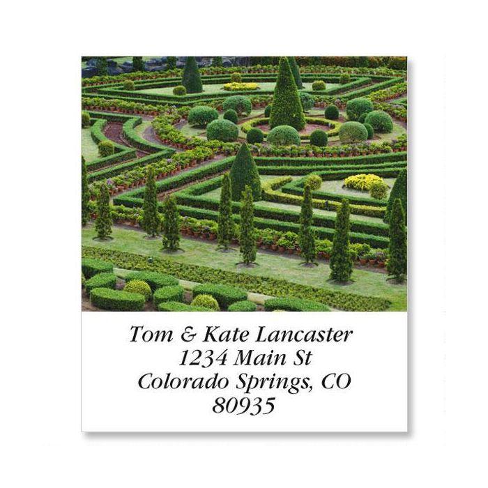 Garden Path Select Return Address Labels  (12 Designs)