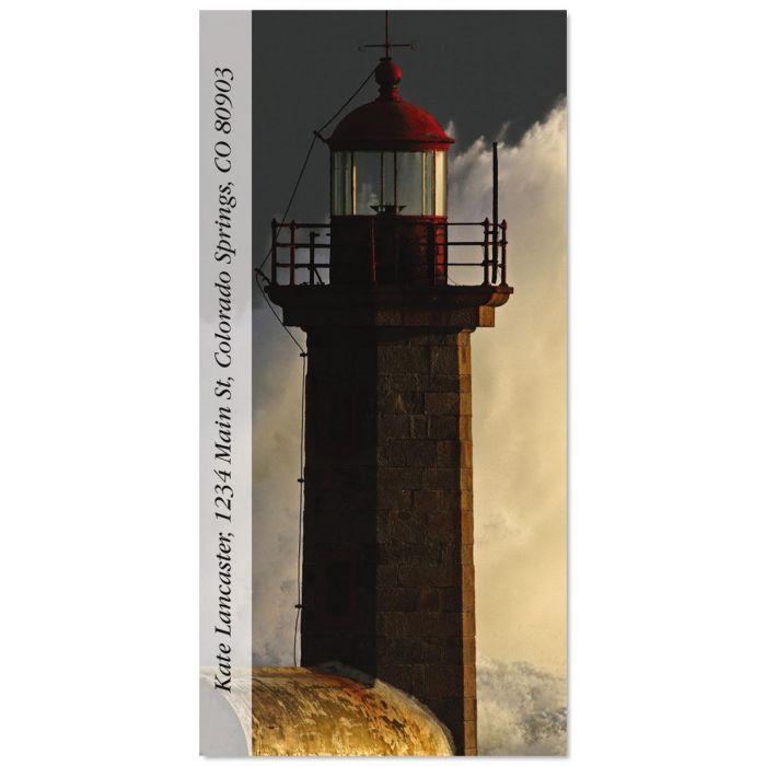 Iconic Lighthouses Oversized Return Address Labels  (5 Designs)