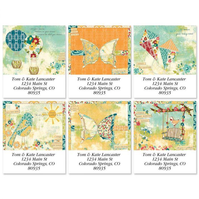 Hello Sweet Spirit Select Return Address Labels  (6 Designs)