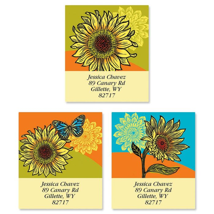 Hello Sunshine Select Return Address Labels  (3 Designs)