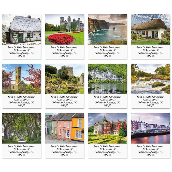 Scenic Ireland Select Return Address Labels  (12 Designs)