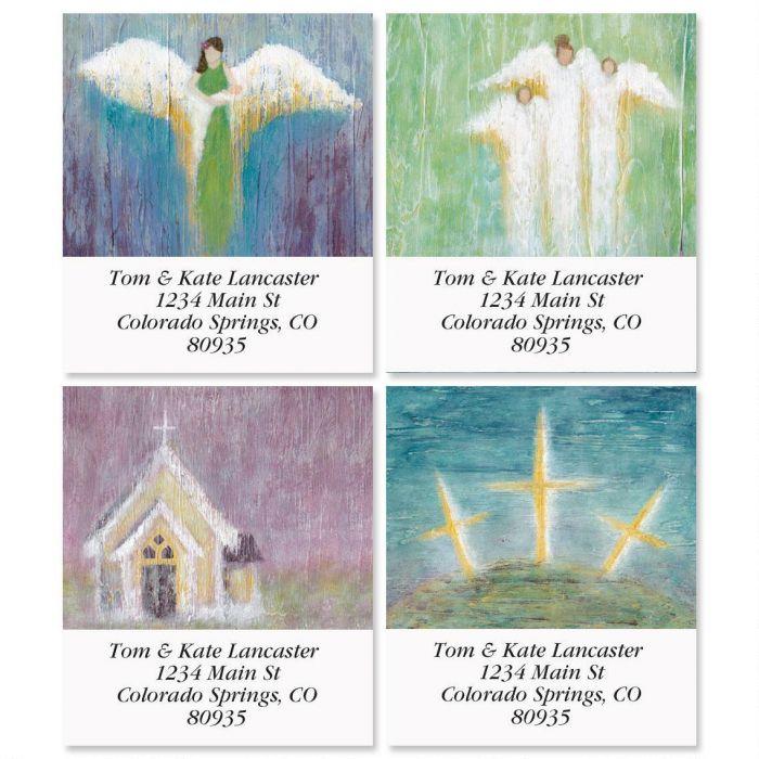 Heaven Awaits Select Return Address Labels  (4 Designs)