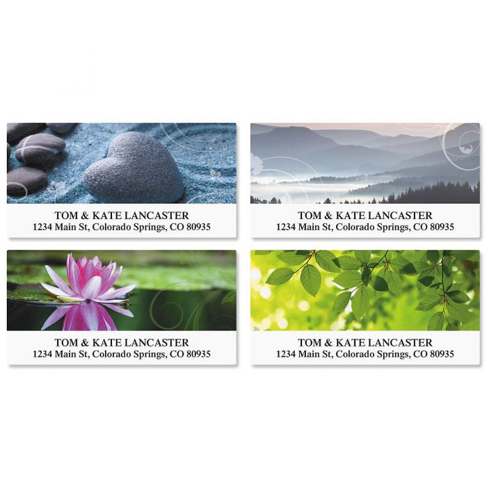 Peace Deluxe Return Address Labels  (4 Designs)