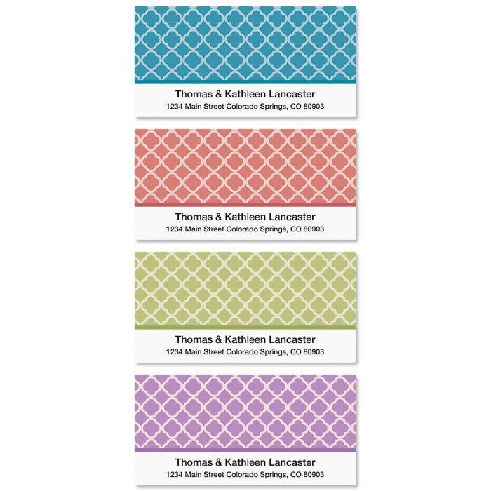 Renaissance Deluxe Return Address Labels   (4 Designs)