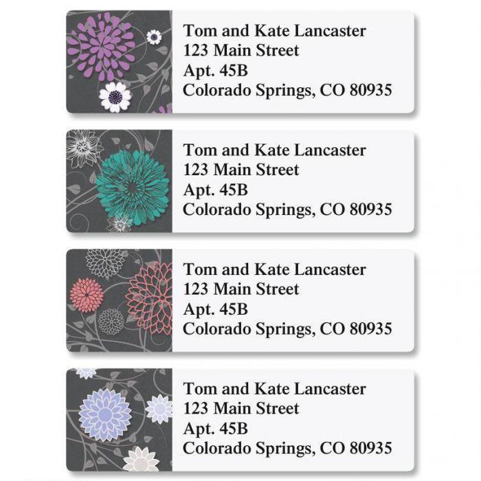 Grey Reflections Classic Return Address Labels (4 Designs)