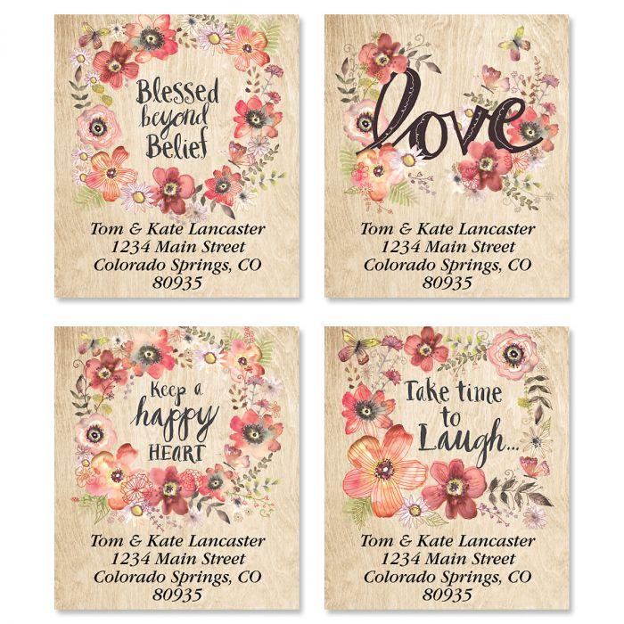Kindness Select Return Address Labels (4 Designs)