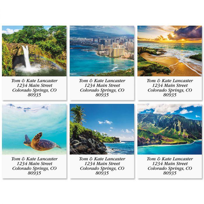 Hawaii Select Return Address Labels (6 Designs)