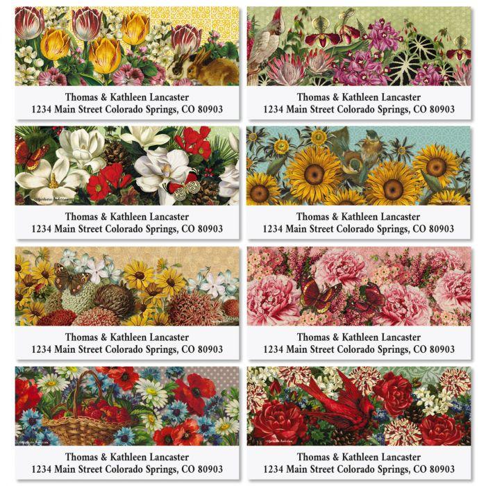 Seasons Change Deluxe Return Address Labels (8 Designs)