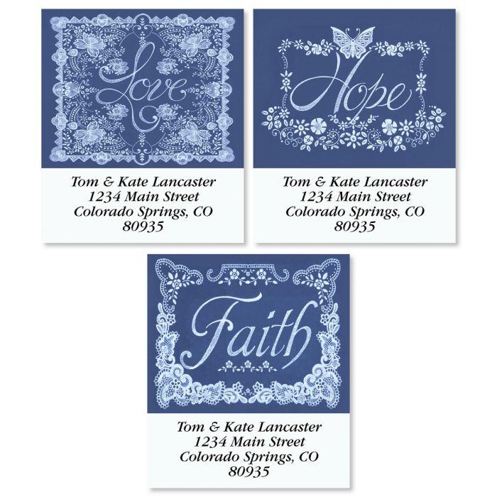Lovely Lace Select Return Address Labels (3 Designs)