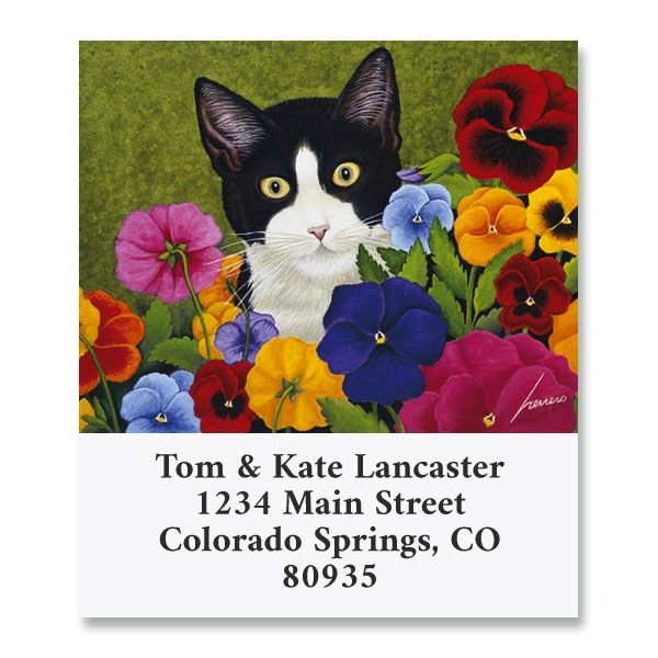 All Occasions Cat Select Return Address Labels (8 Designs)