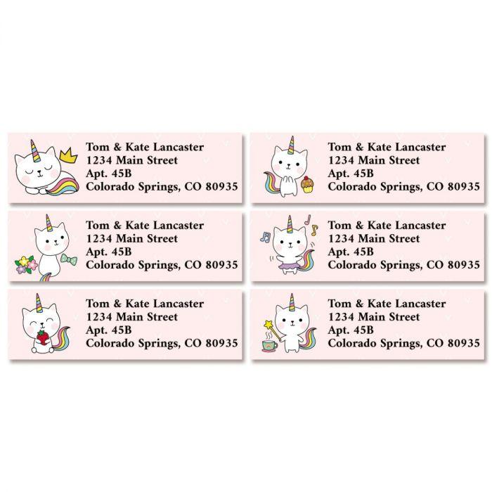 Kittycorn Classic Return Address Labels (6 Designs)
