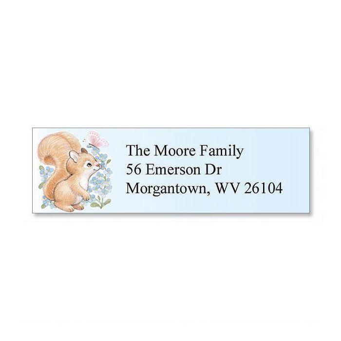 Baby Animals Classic Return Address Labels  (6 Designs)