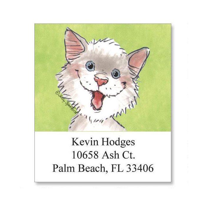 Whiskers Select Return Address Labels   (6 Designs)