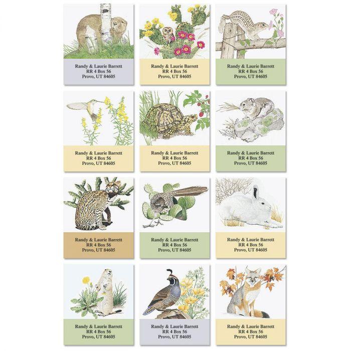 Desert Miracle Select Return Address Labels   (12 Designs)
