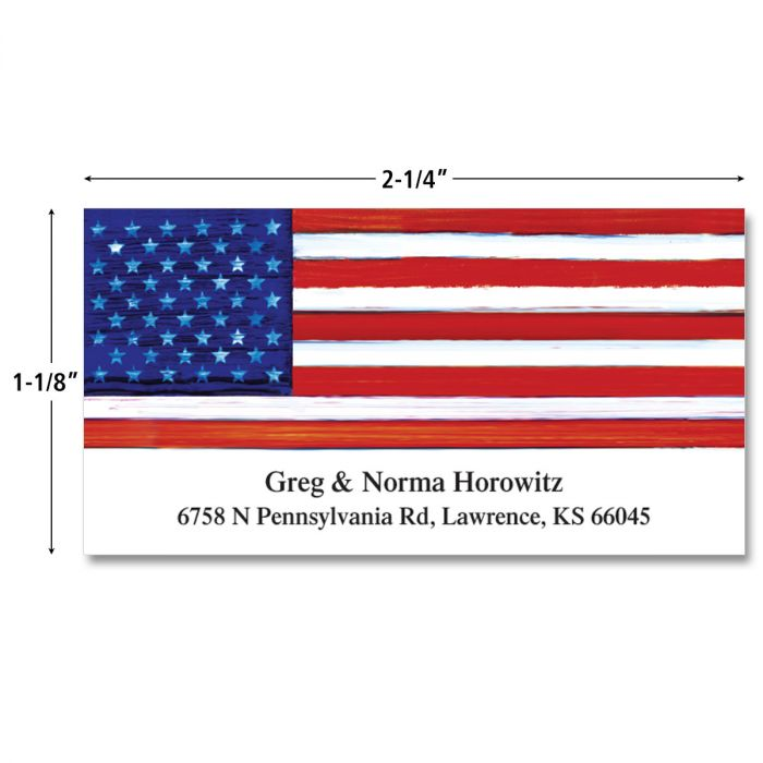 Tribute Deluxe Return Address Labels  (4 Designs)