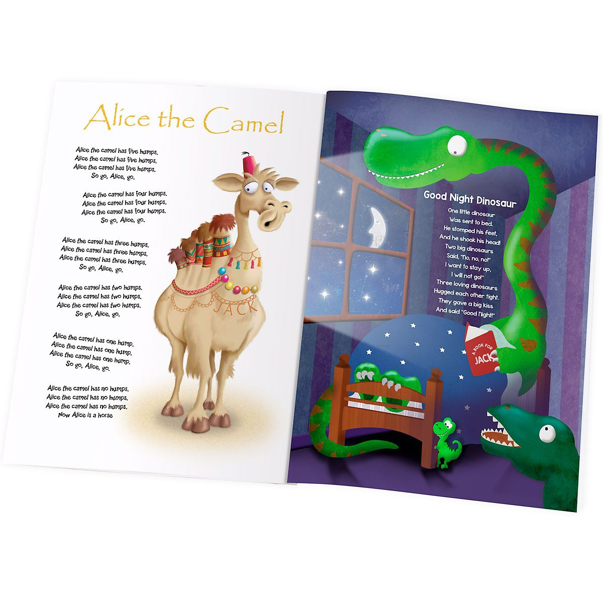 Modern Nursery Rhymes Personalized Storybook