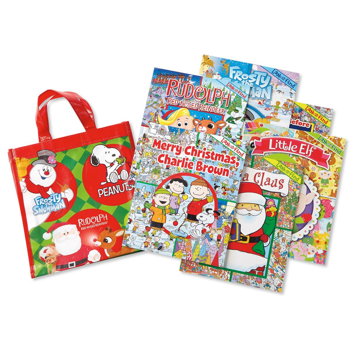 Christmas Look and Find® Books in a Tote Bag