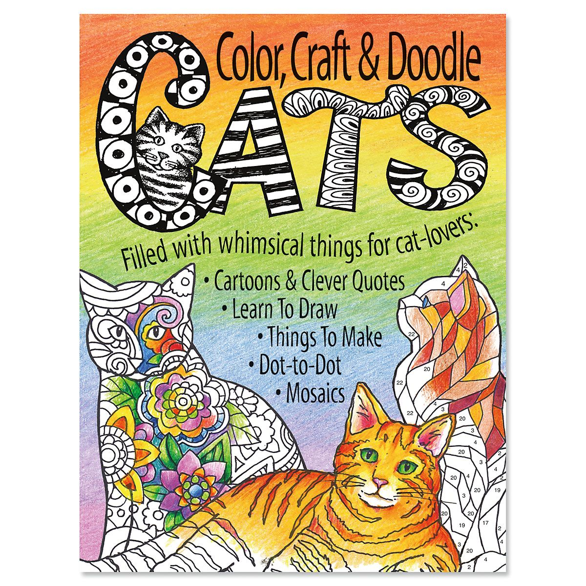Color, Craft & Doodle Cats
