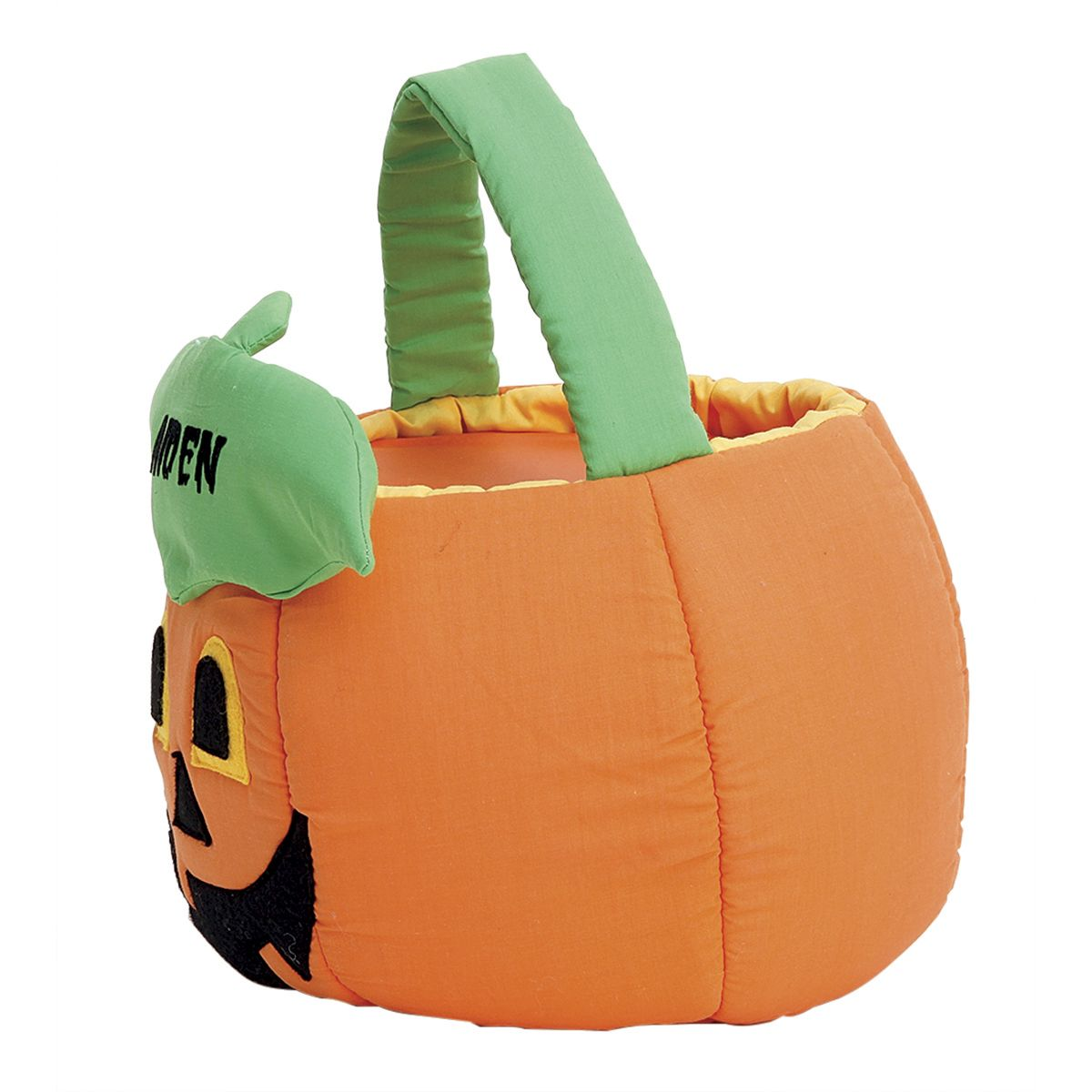 Jack-o'-Lantern Treat Basket
