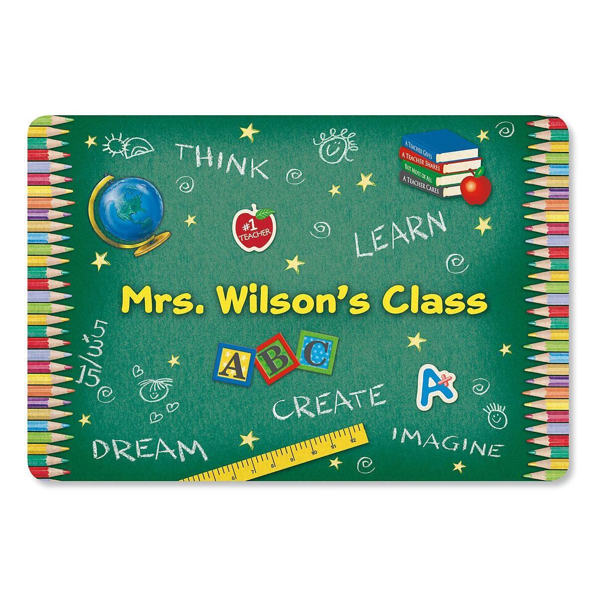Teacher's Classroom Custom Doormat