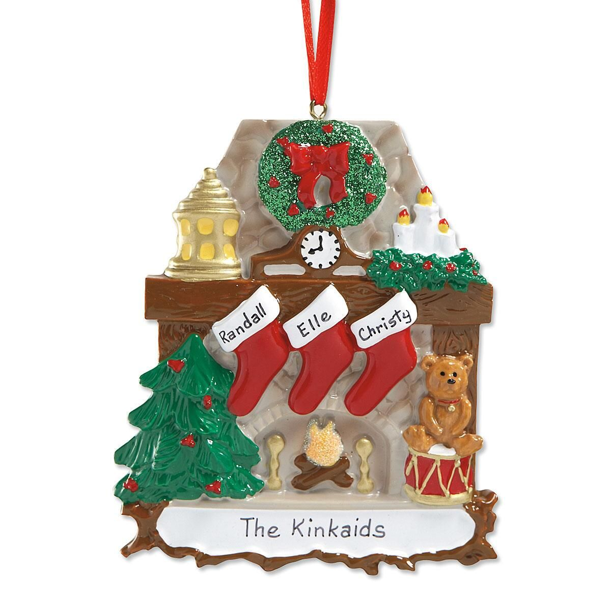 Mantel Stockings & Chimney Ornament Ornaments