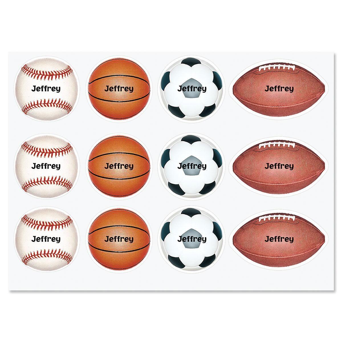 Sports Custom Stickers