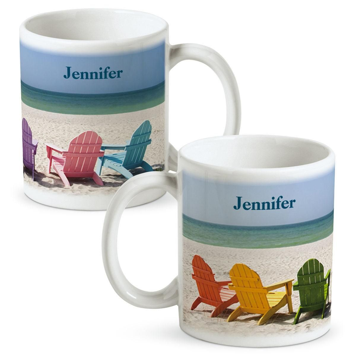Tropical View  Personalized Mug