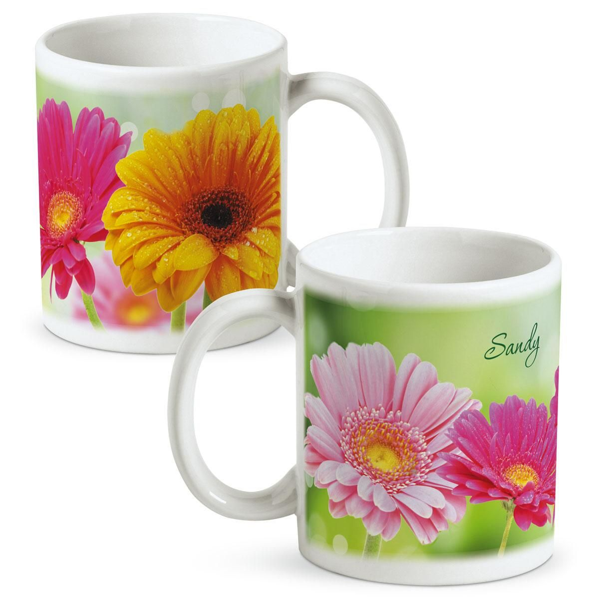 Gerbera Daisy Personalized Mug