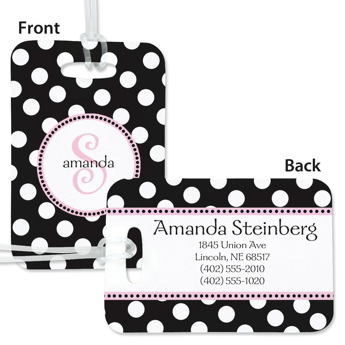 Leeza Personalized Bag Tag
