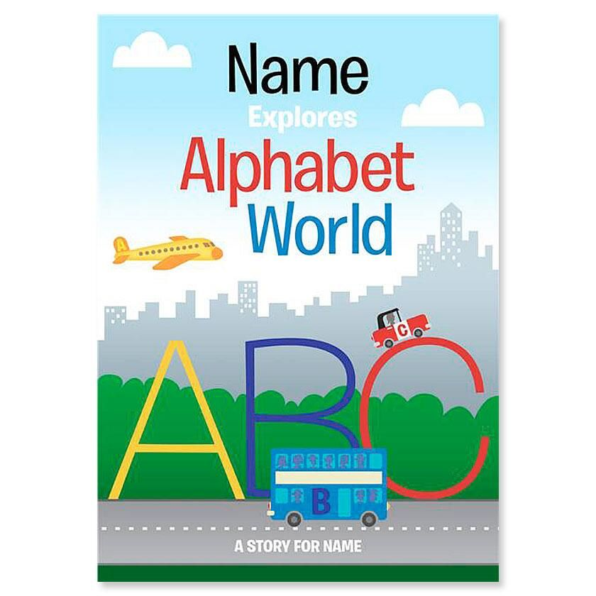 Custom Alphabet World Storybook