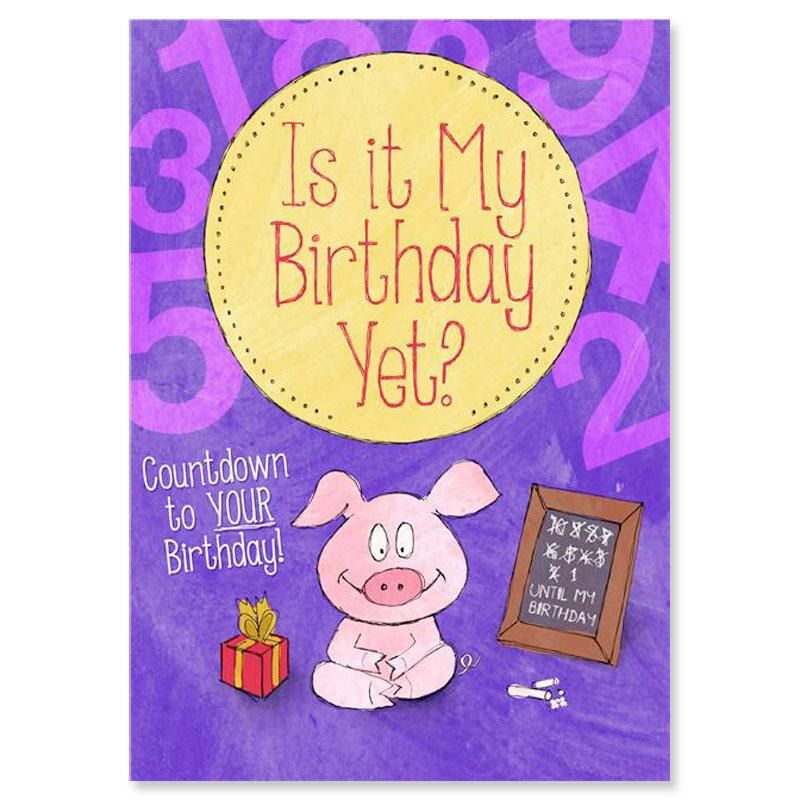 Is It My Birthday Yet? Personalized Storybook