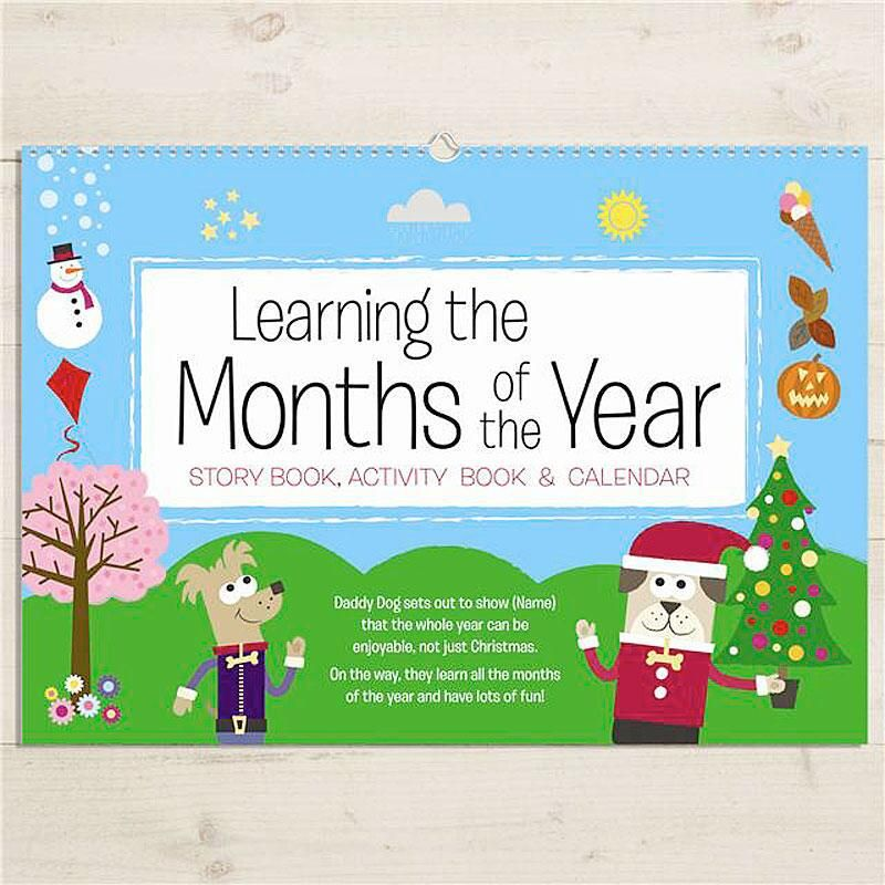 Months-of-the-Year Activity Book