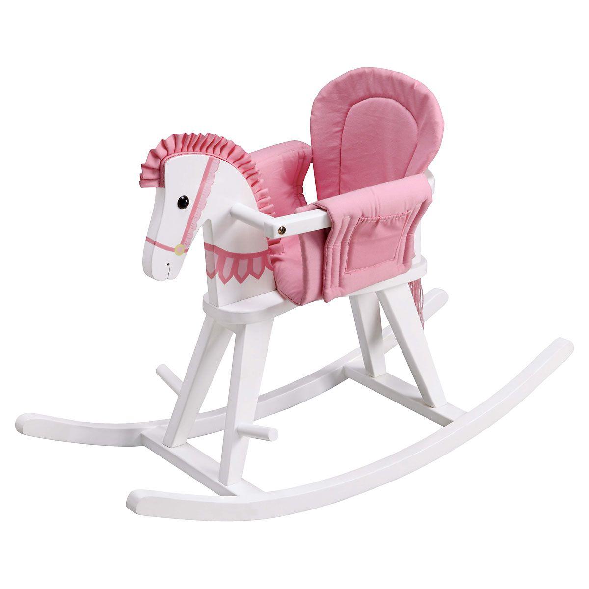 Safari Pink Rocking Horse