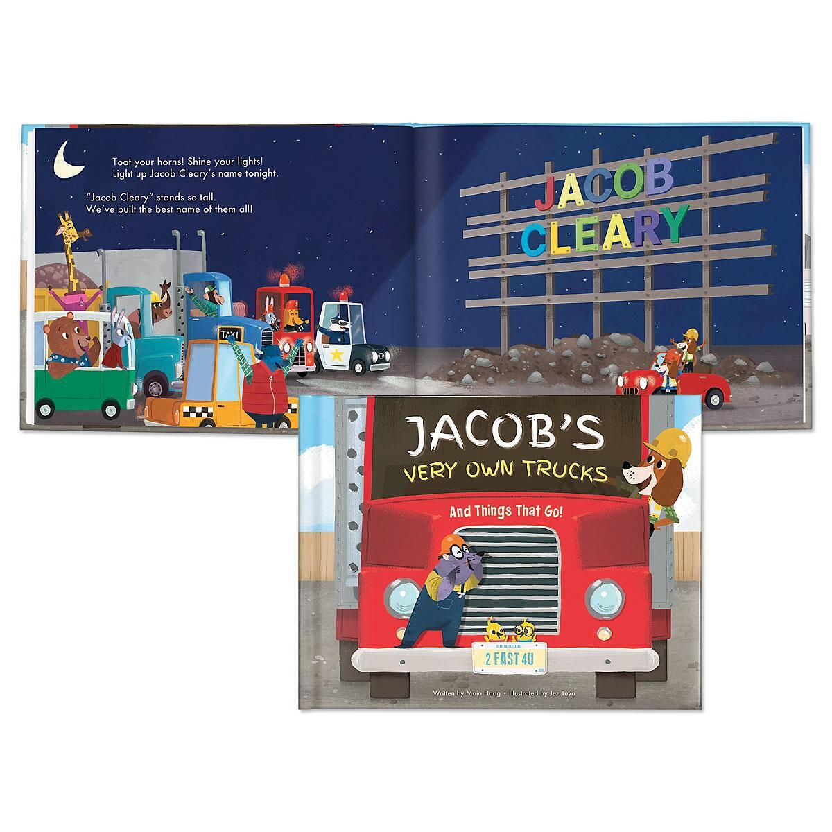 My Very Own Trucks Custom Storybook