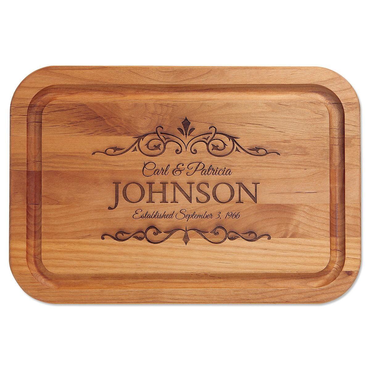 Alder Established Custom Wood Cutting Board