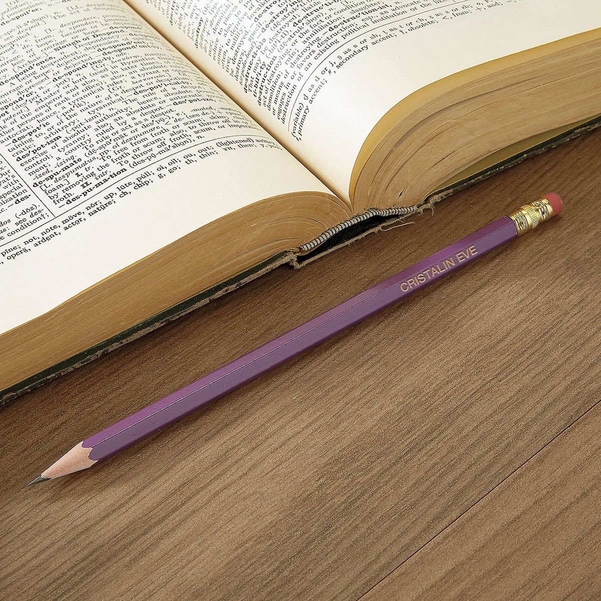Purple #2 Hardwood Custom Pencils