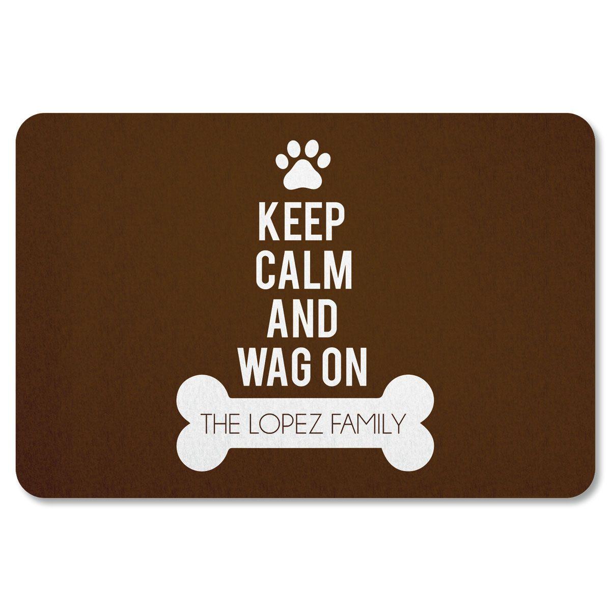 Custom Wag On Doormat
