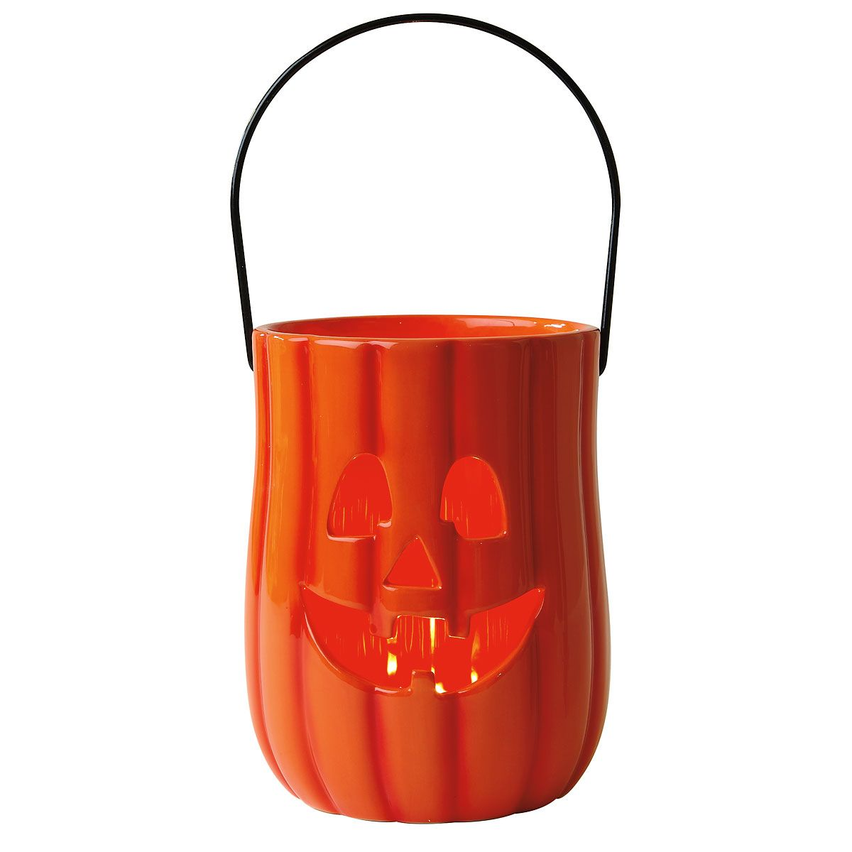 Pumpkin Ceramic Halloween Lantern