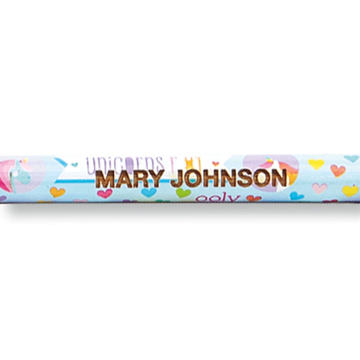 Unicorn #2 Hardwood Custom Pencils
