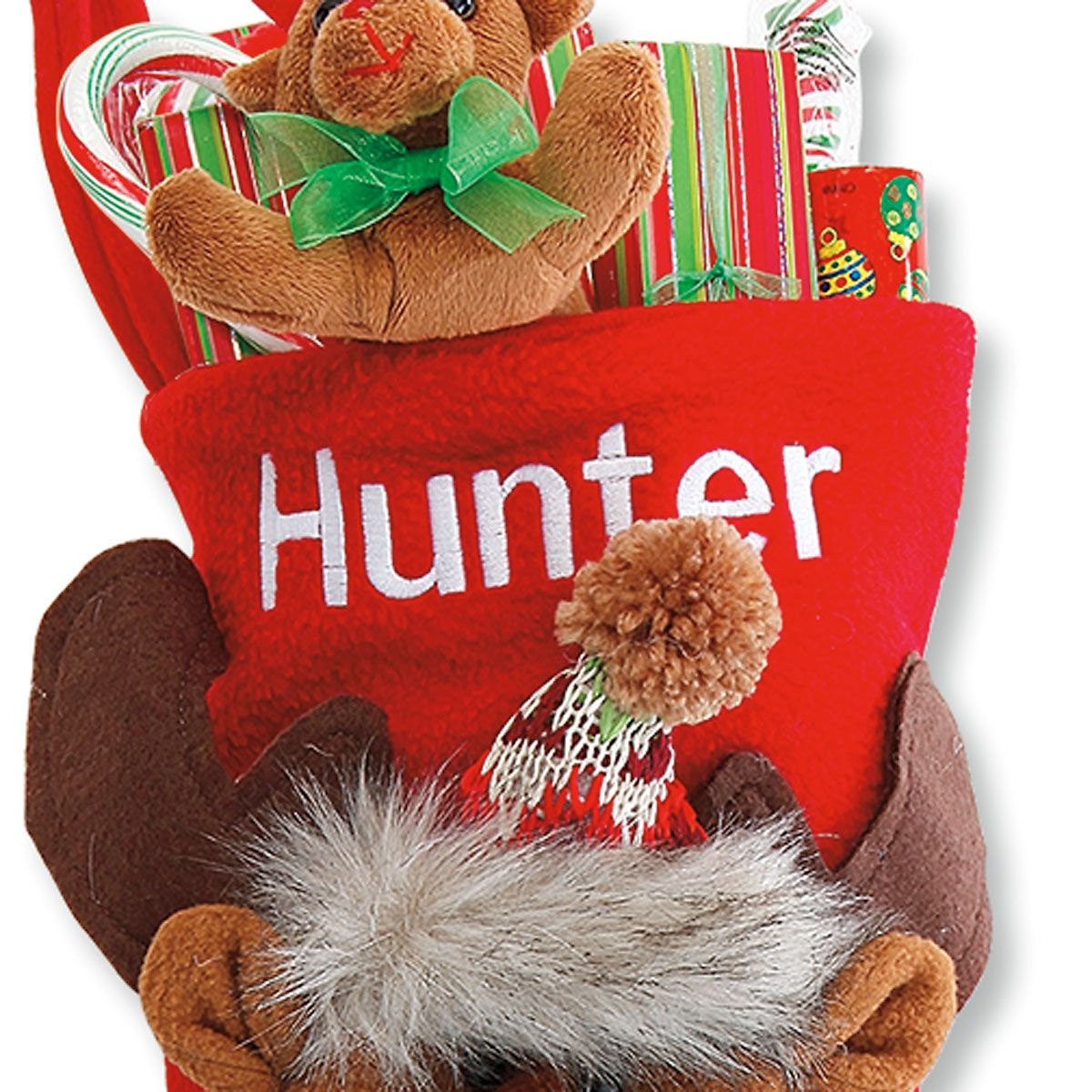 Personalized Woodsy Pal Deer Stocking