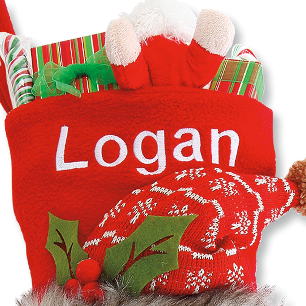 Personalized Woodsy Pal Santa Stocking