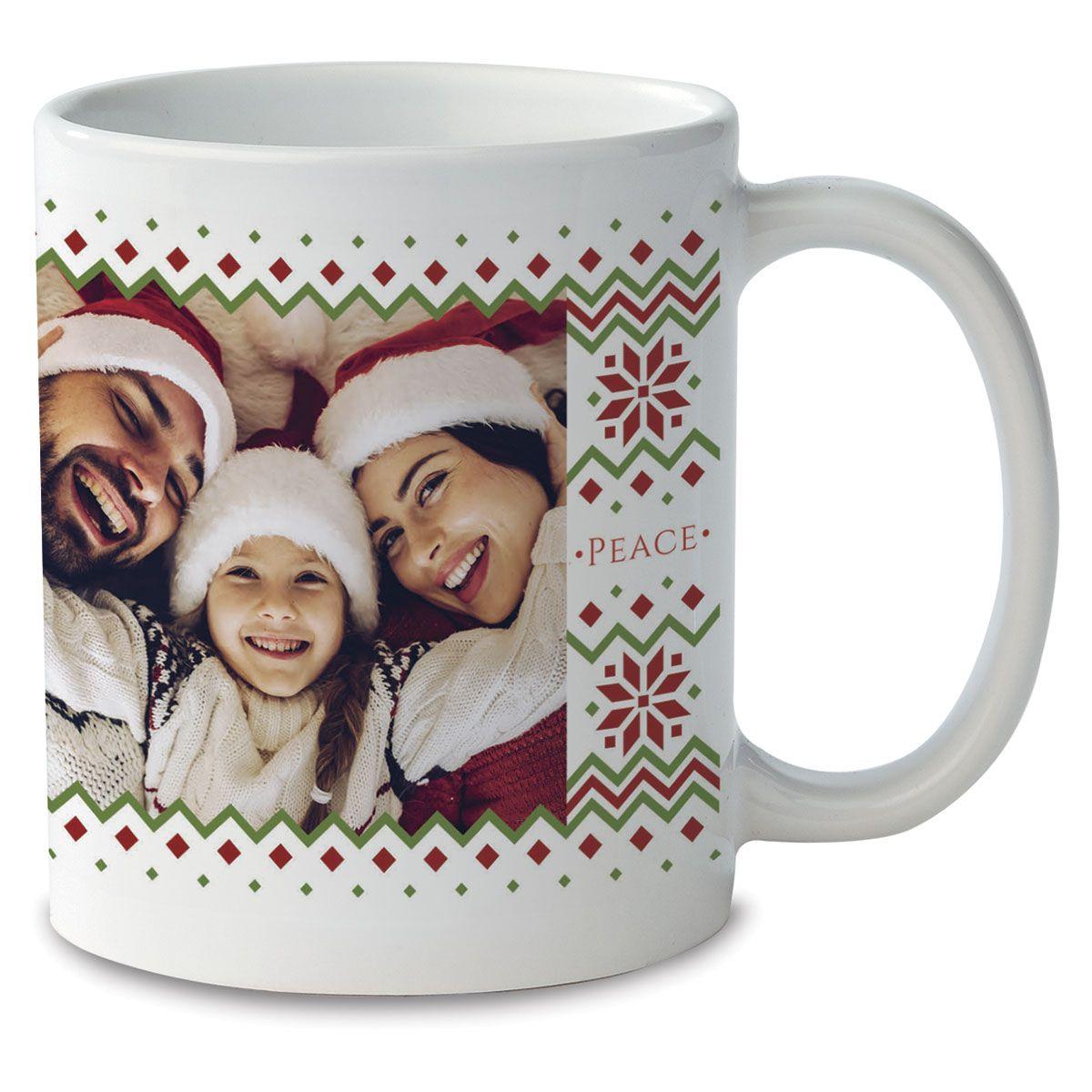 Sweater Custom Photo Mug