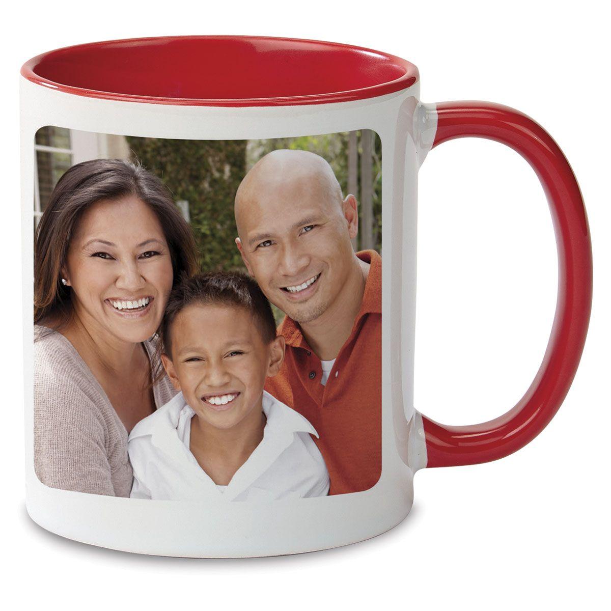 Holly Ceramic Photo Mug