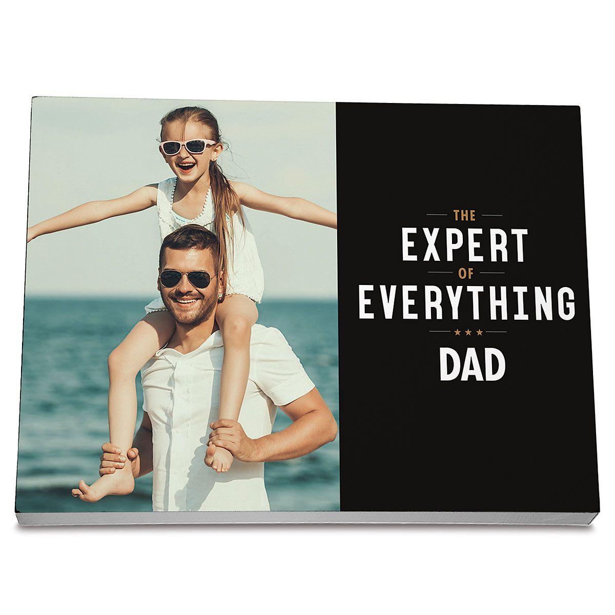 Expert Photo Plaque