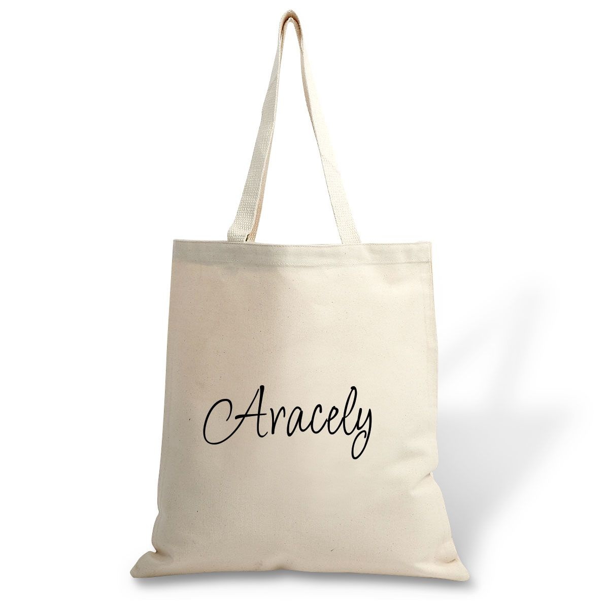 Custom First Name Canvas Tote