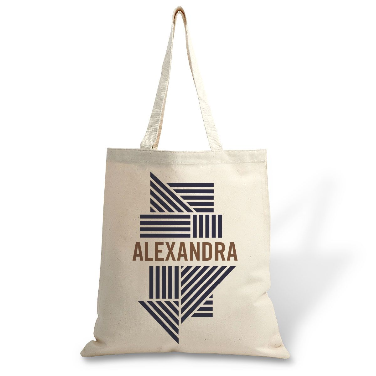 Custom Stripes Canvas Tote