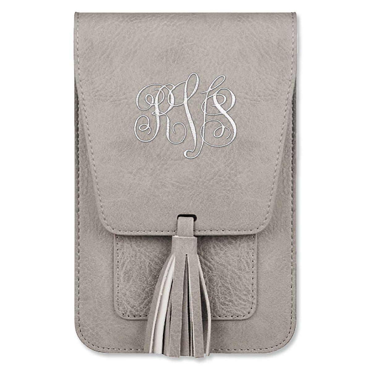 Custom Harper Crossbody Bag - Gray