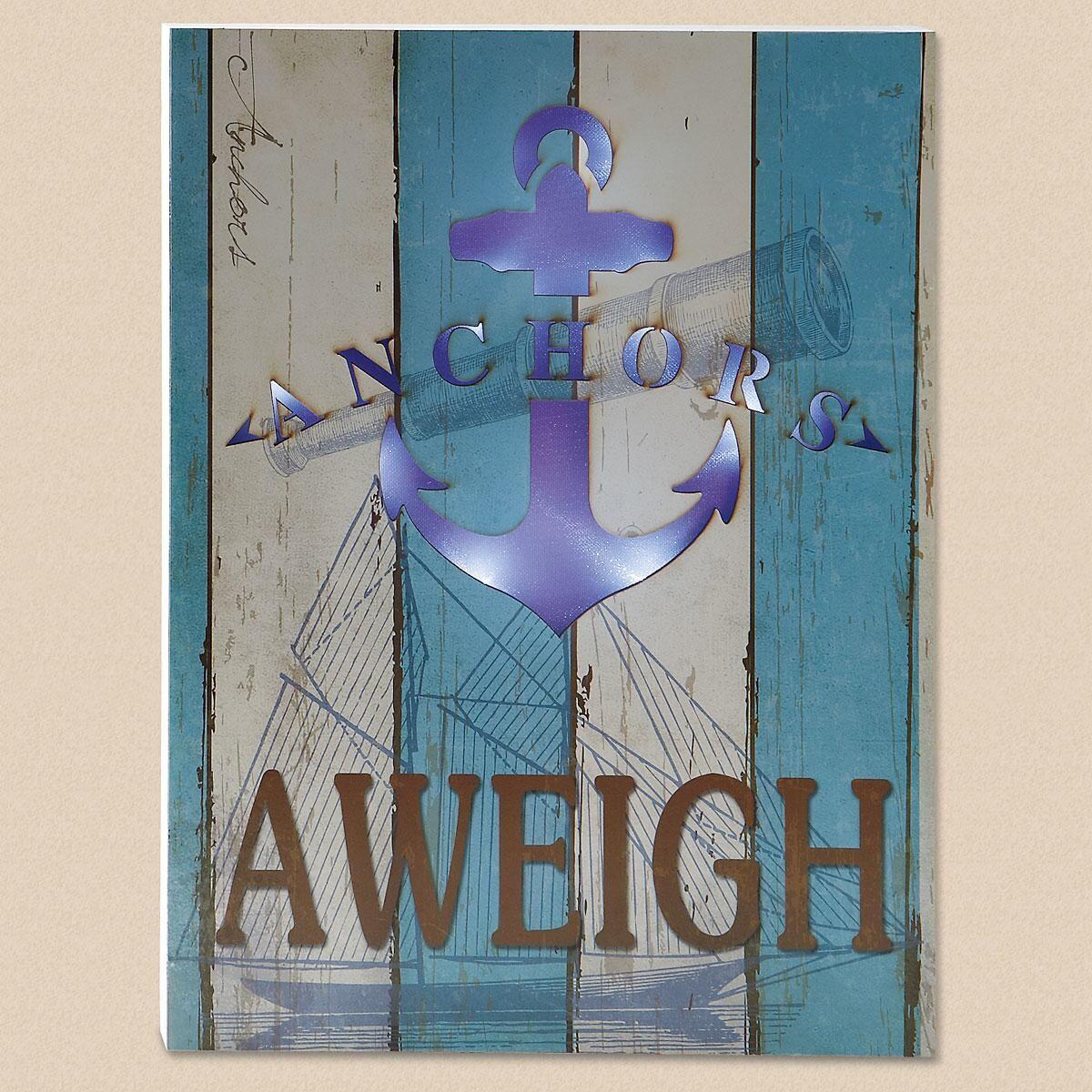 Anchor LED Sign