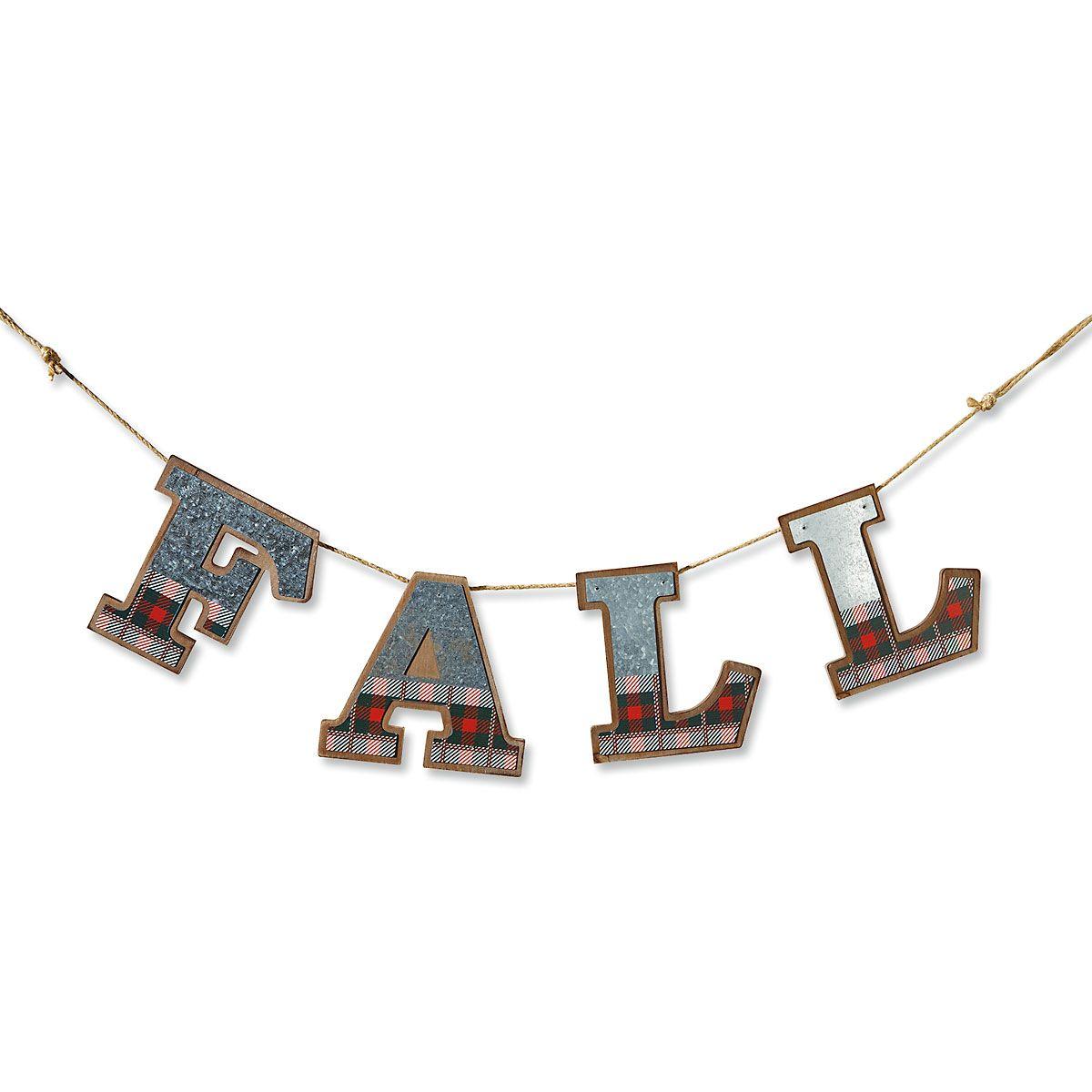 Fall Wood Banner
